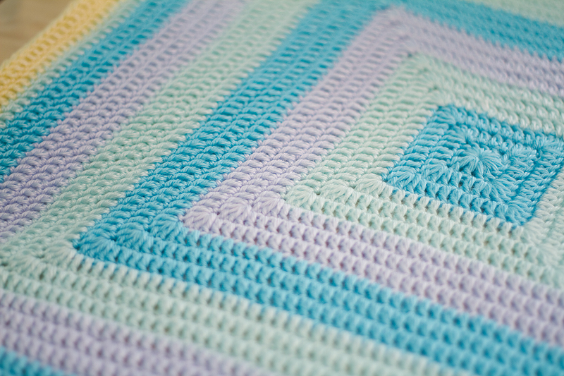 EASY BABY BLANKETS TO CROCHET - CROCHET KNIT PATTERN SCARF