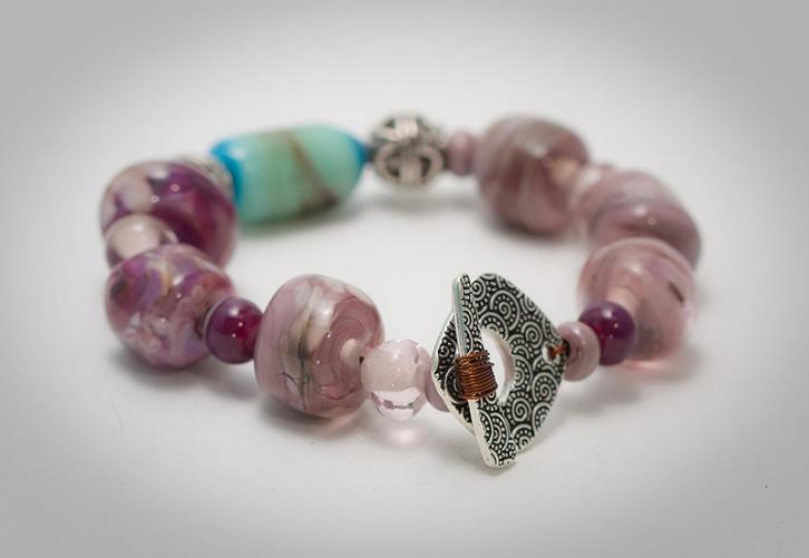 glass lampworking bracelet