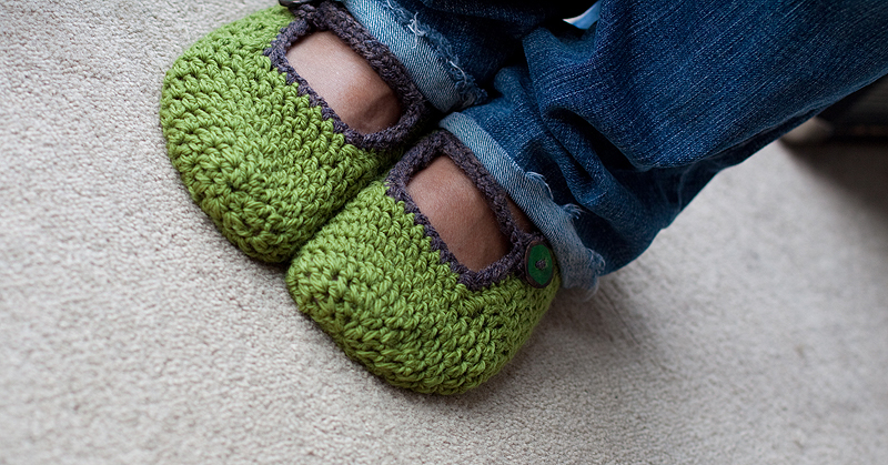 Kickass Mary-Janes | The Blue Brick | Inspired Yarns