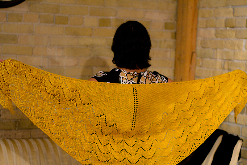 travelling woman shawl
