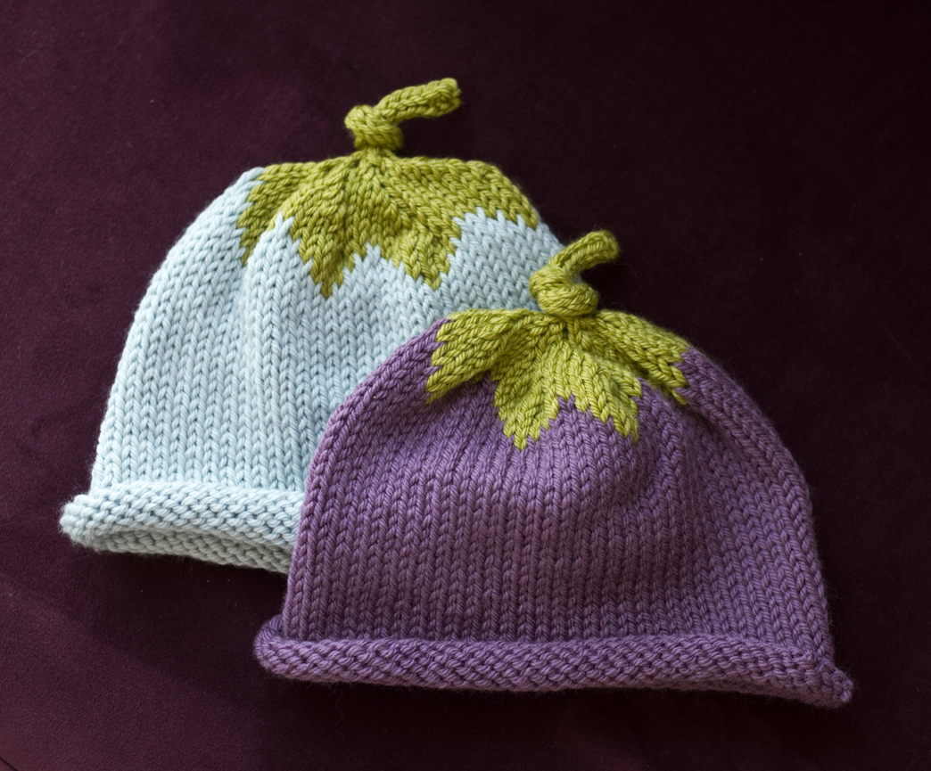 Free Baby Beanie Knitting Pattern : Berry Baby Hats The Blue Brick Photography and Handcrafts by Shireen Nadir