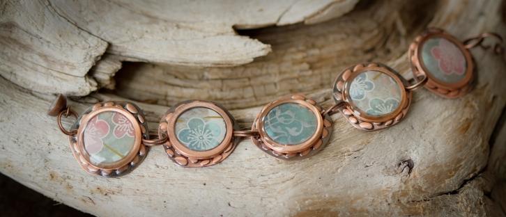 Ice Resin bracelet
