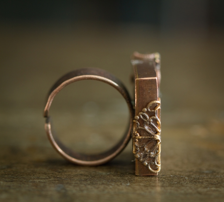 autumn jewellery ring