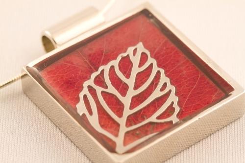 autumn leaf  jewellery