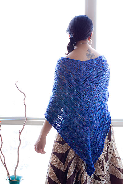 Free beaded shawl pattern