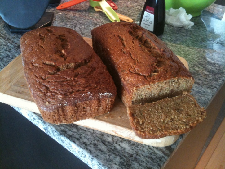 Diabetes friendly Zucchini Bread