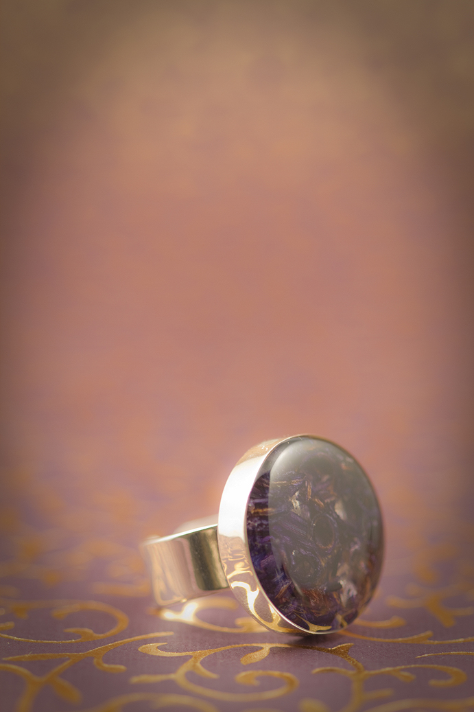 Hyacinth resin jewellery