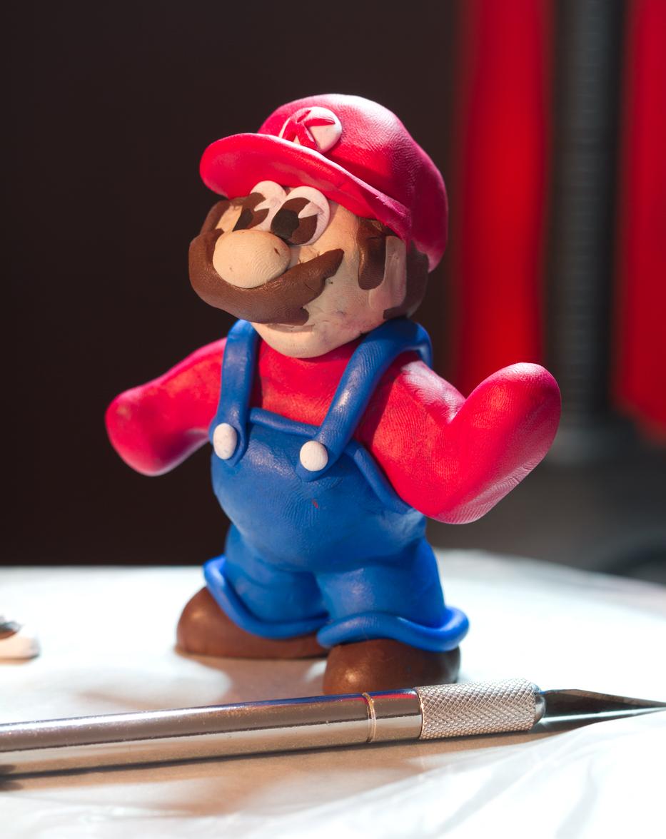 Super Mario Cake Topper