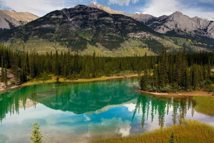 The Rocky Mountains, Alberta