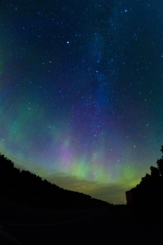 night photography epic northern lights