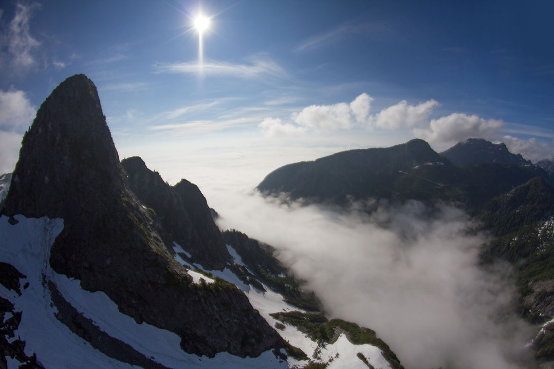 Rock Mountain aerial