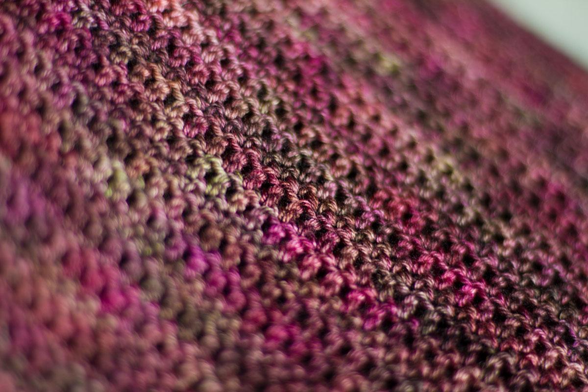 Crochet Patterns Using Variegated Yarn : Free Pattern - The Mushin Cowl The Blue Brick Inspired Yarns
