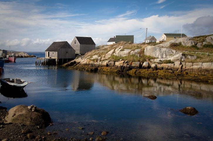 Peggy's Cove ©Shireen Nadir 2012
