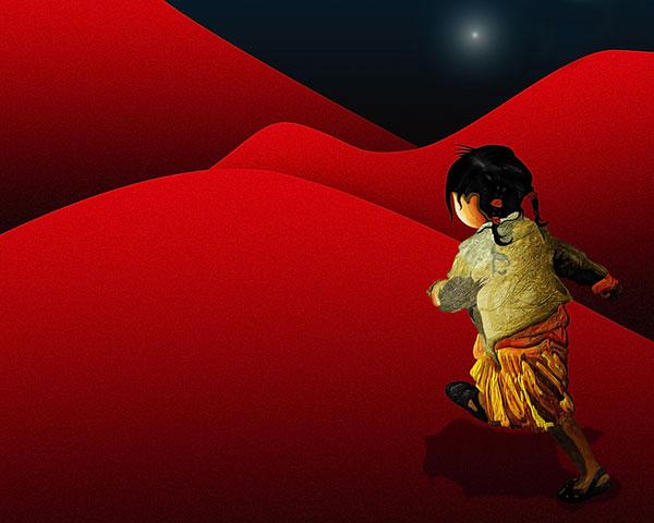 The Red Girl © Shireen Nadir 2012