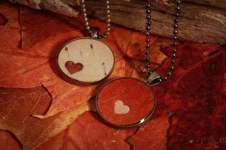 Real leaf jewellery ©Shireen Nadir 2012