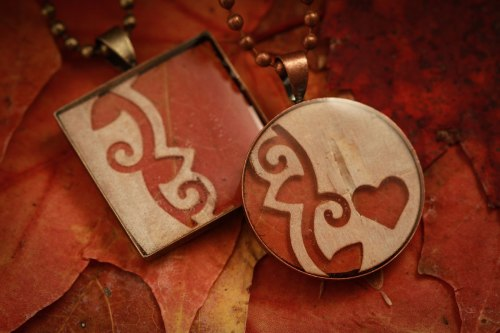 Real leaf jewellery ©Shireen Nadir 2012
