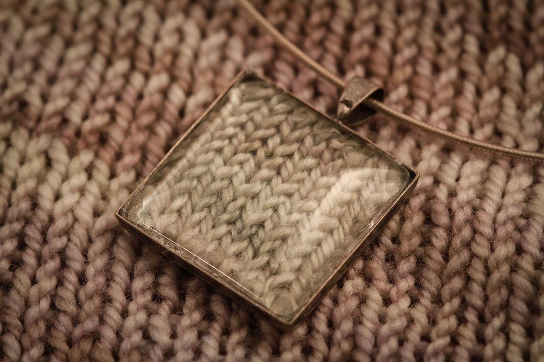 knitted jewellery ©Shireen Nadir 2012
