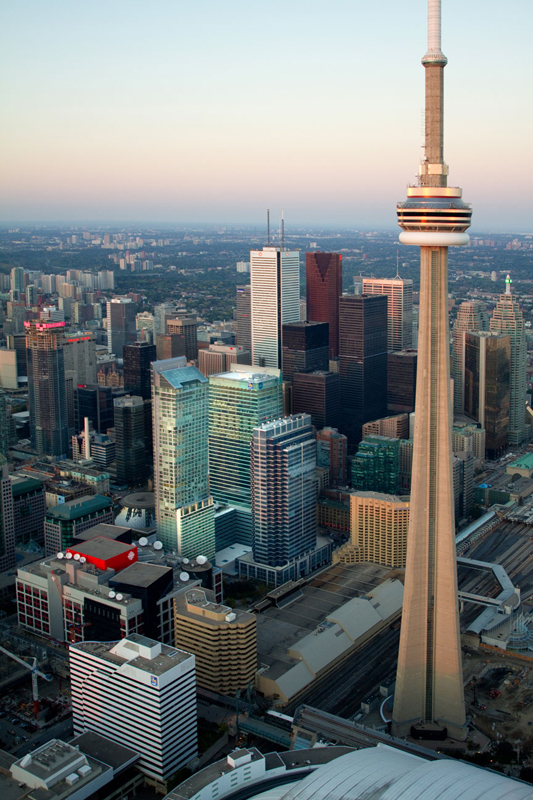 CN Tower Toronto ©Shireen Nadir 2012