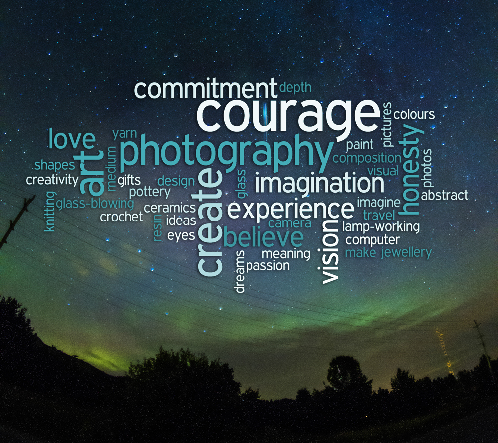 Word Cloud ©Shireen Nadir 2012