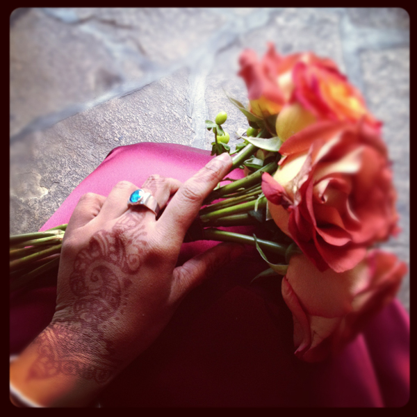 Preserved wedding bouquet ©Shireen Nadir 2012