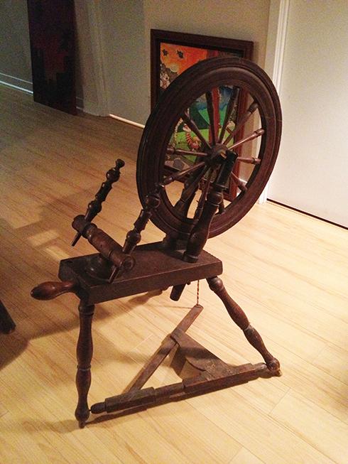 1860 Spinning wheel ©Shireen Nadir 2012