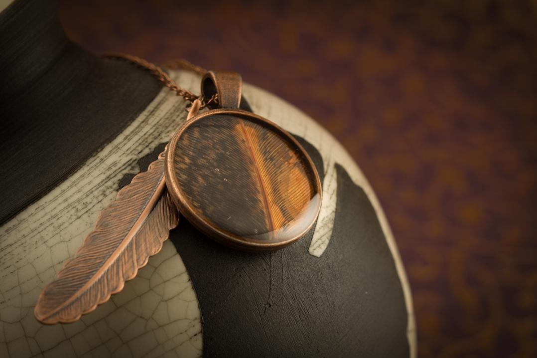 Feather Jewellery ©Shireen Nadir 2012