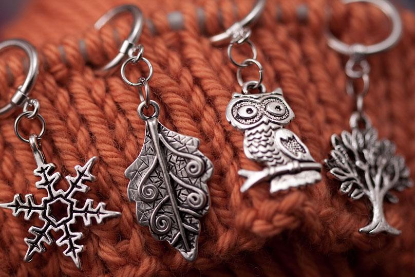 Custom Stitch Markers ©Shireen Nadir 2012