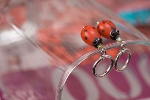 Custom Stitch Markers ©Shireen Nadir 2012