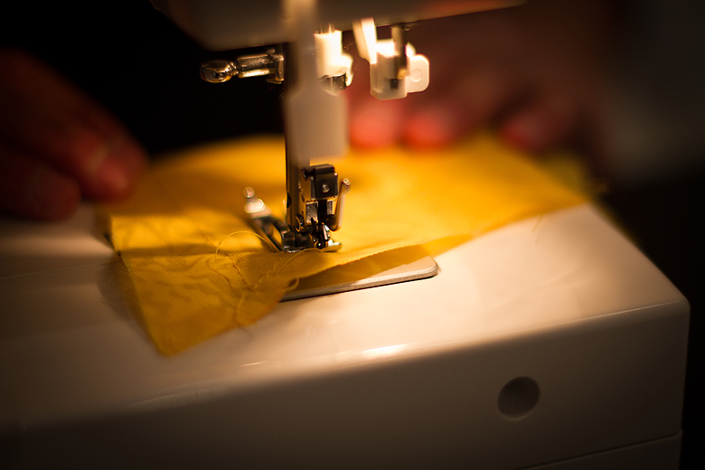 Sewing, skirt, learning