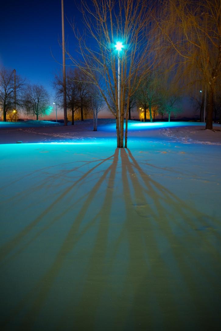 Snow, Toronto, Canada, Winter, HTO Park