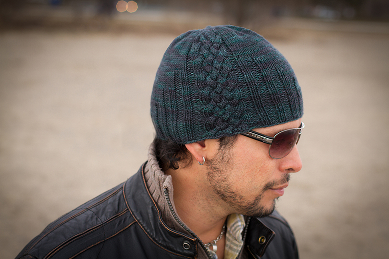 Knitting Pattern Hat Man : The Johnathan Hat The Blue Brick Photography and Handcrafts by Shireen Nadir