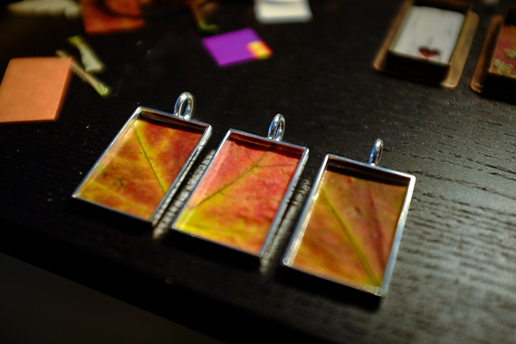 Resin Jewellery ©Shireen Nadir 2013