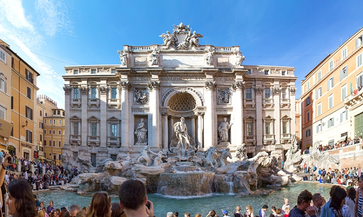 Trevi Fountain - if you can manage the crowds it's always worth a look!