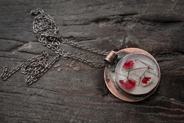 Resin Jewellery ©Shireen Nadir 2014