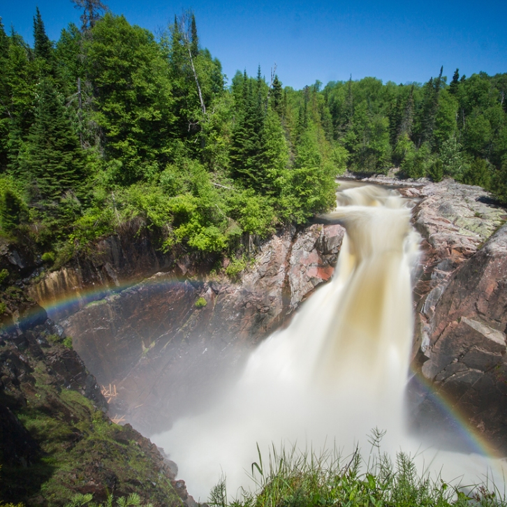 Agua Sabon falls, Terrance Bay
