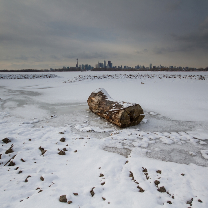 Toronto, from the Leslie Street Spit