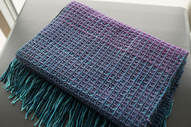 Ombre scarf ©Shireen Nadir 2014
