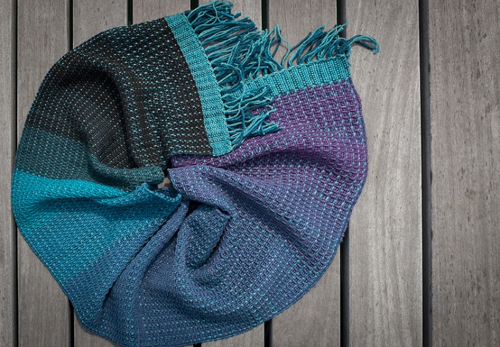 Ombre scarf ©Shireen Nadir 2014