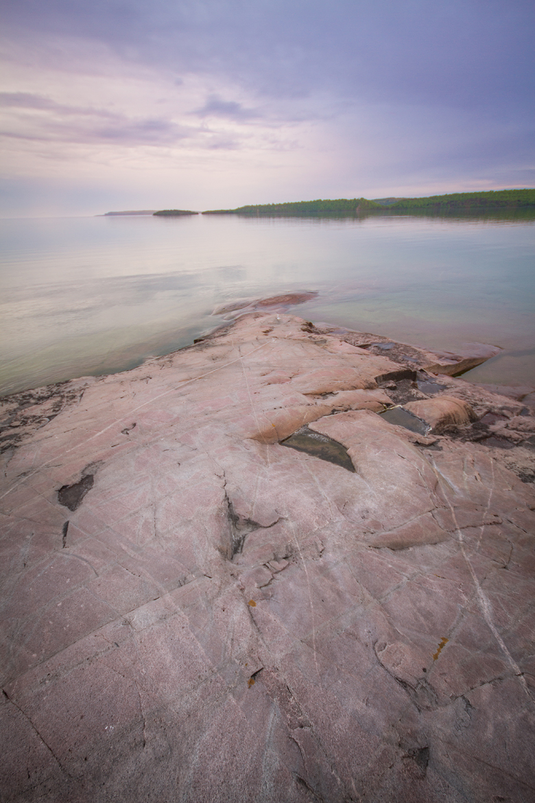 Rossport Beach, North Shore of Lake Superior