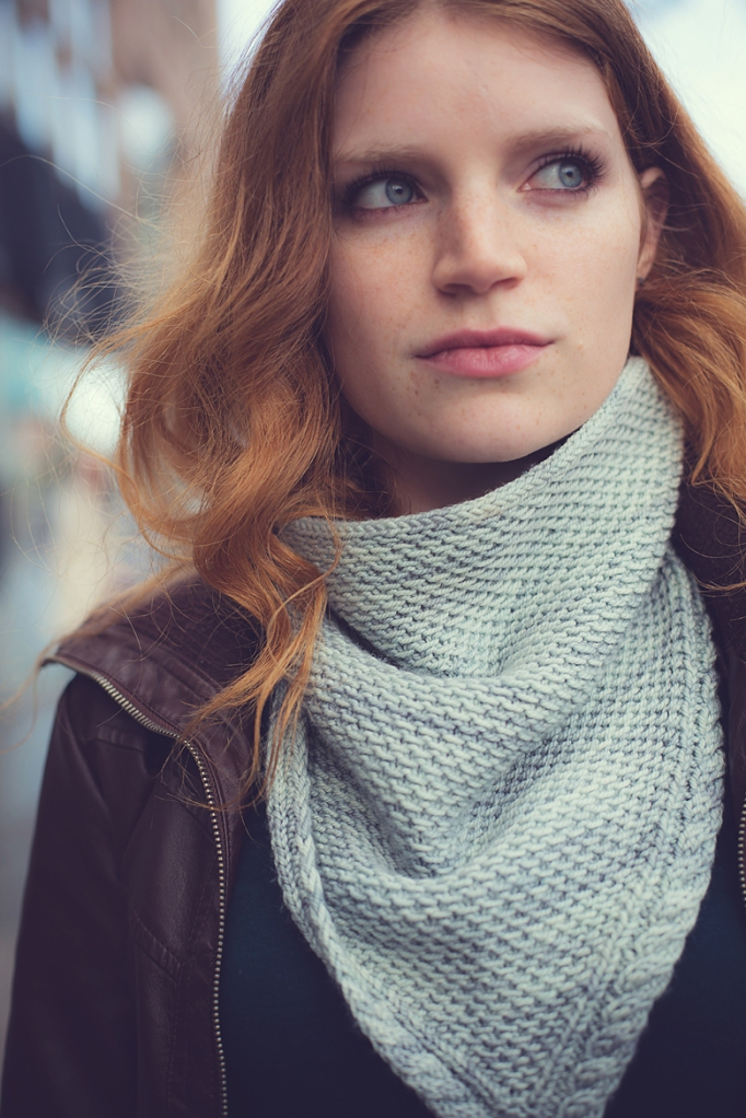 New Pattern The Sencilla Cowl The Blue Brick Inspired Yarns