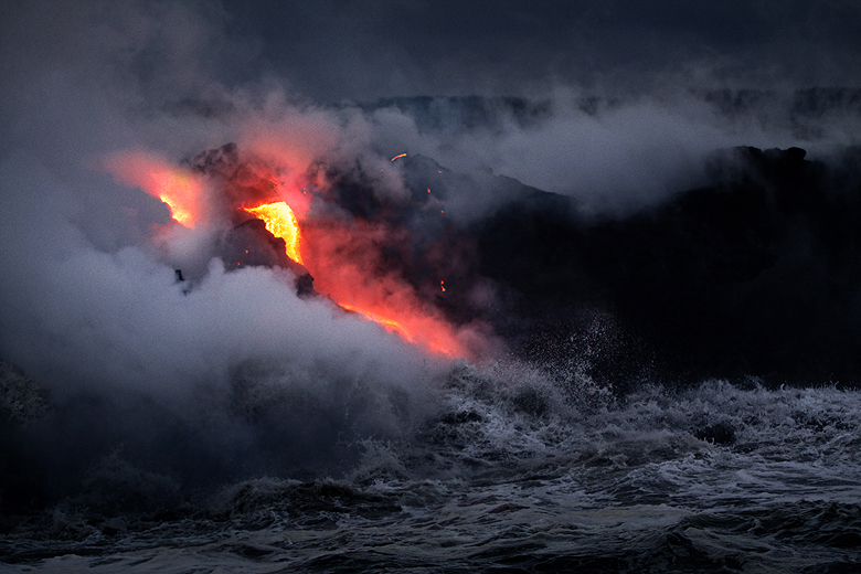 Mt Kilauea lava flow ©Shireen Nadir 2014