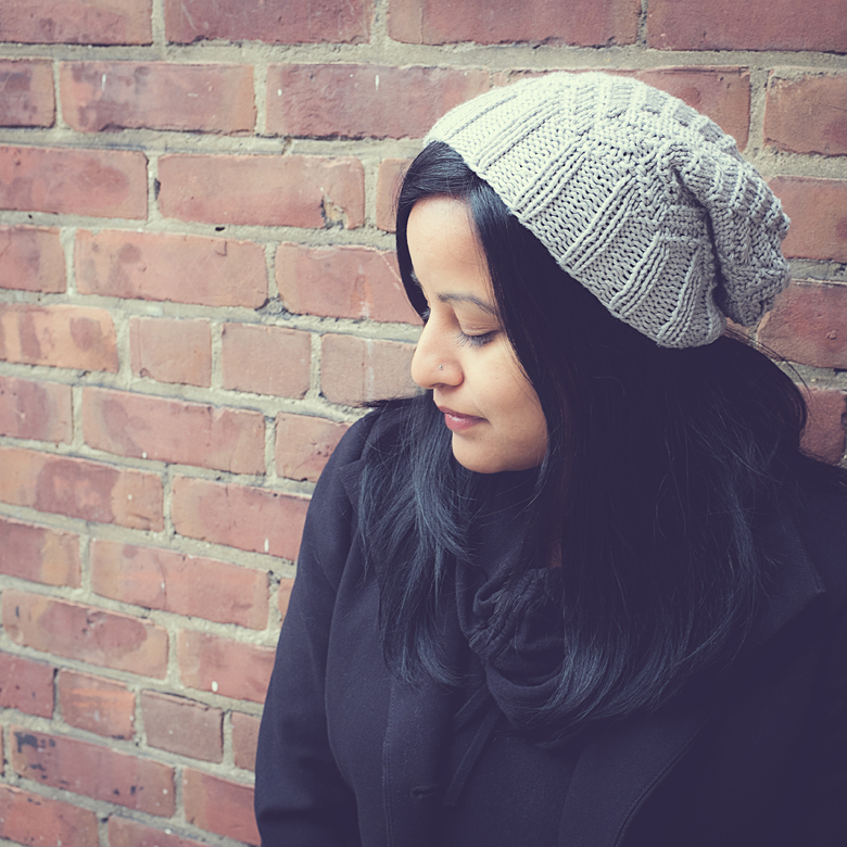 The Simple Slouch – Free Knitting Pattern | The Blue Brick ...