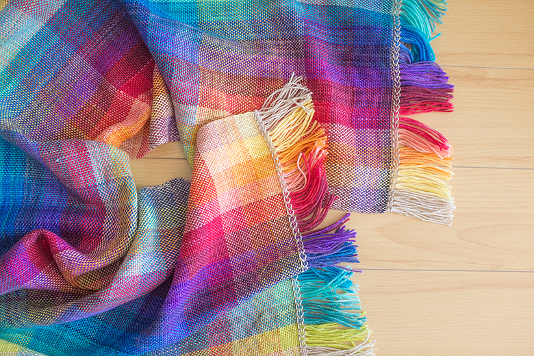 Tutorial – The Colour Shifting Scarf