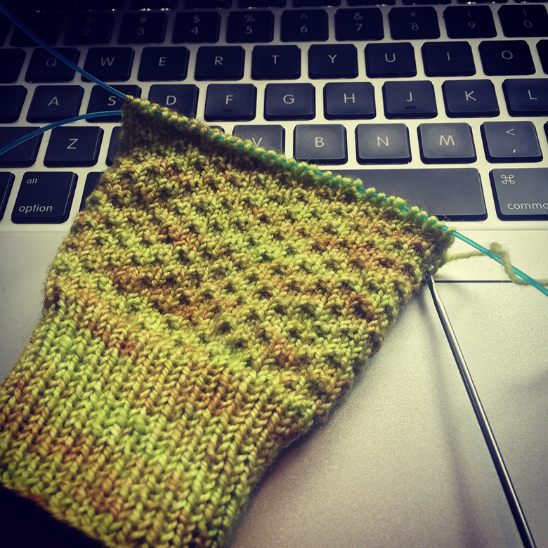 My first pair of Hermione's Everyday socks. 10000 Ravellers can't be wrong!